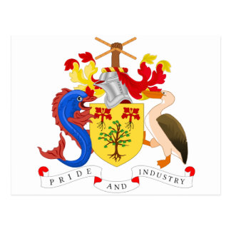 Barbados Coat of Arms Post Cards