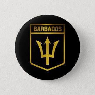 Barbados Emblem Pinback Button