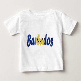 Barbados Flag Baby T-Shirt