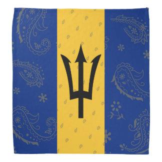 Barbados Flag Bandana