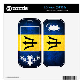 Barbados Flag Barbadian LG Neon Skin