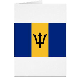 Barbados Flag BB Card