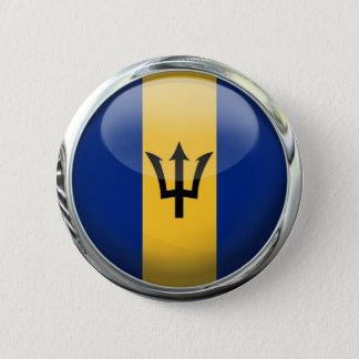 Barbados Flag Button