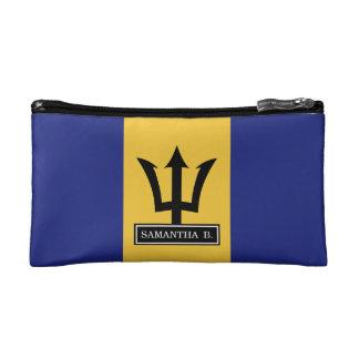 Barbados Flag Cosmetic Bag