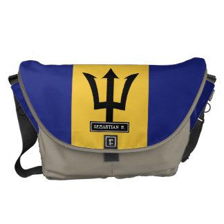 Barbados Flag Courier Bag