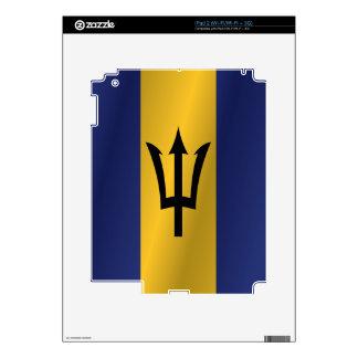 Barbados flag iPad 2 skins