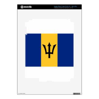 Barbados Flag iPad 3 Skin