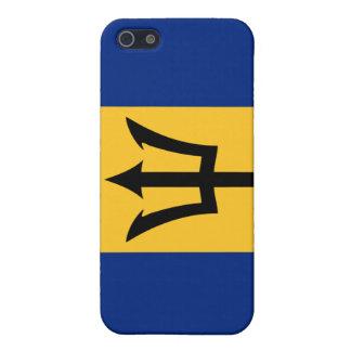 Barbados flag iPhone 4 case