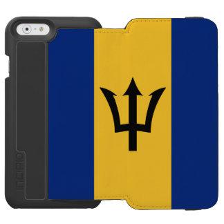 Barbados flag iPhone 6/6s wallet case