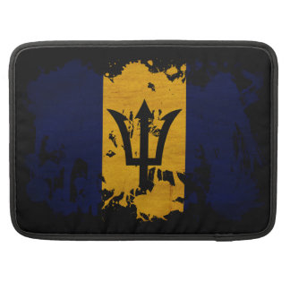 Barbados Flag Sleeve For MacBooks