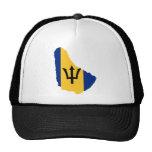 Barbados Flag map BB Trucker Hat
