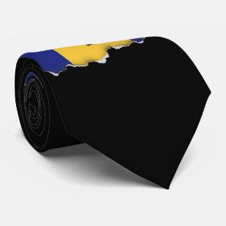 Barbados Flag Neck Tie