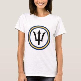 Barbados Flag Ring T-Shirt