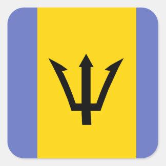 Barbados Flag Set Sticker