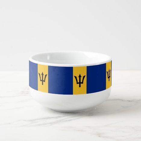 Barbados Flag Soup Mug