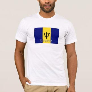 Barbados flag souvenir t-shirt