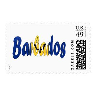 Barbados Flag Stamps