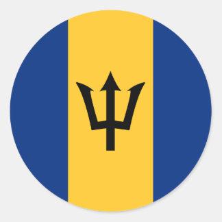 Barbados Flag Sticker