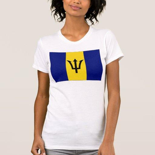 Barbados Flag Tee Shirt