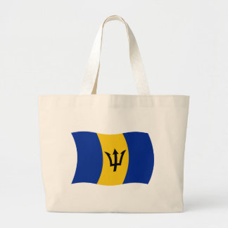 Barbados Flag Tote Bag