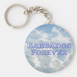 Barbados Forever - Bevel Basic Keychains
