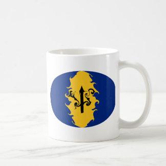 Barbados Gnarly Flag Mug