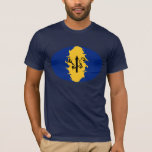 Barbados Gnarly Flag T-Shirt