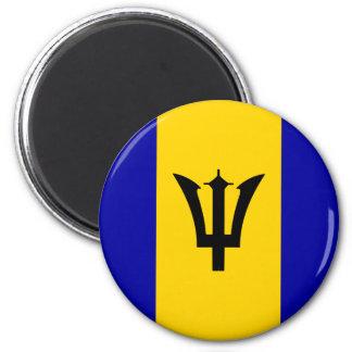 Barbados High quality Flag Magnet