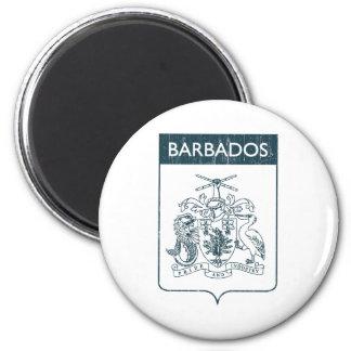 Barbados Imán Redondo 5 Cm