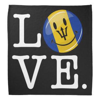 Barbados Island Love Bandana