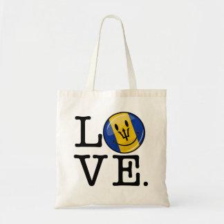 Barbados Island Love Tote Bag