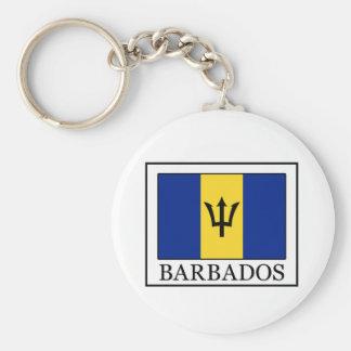 Barbados keychain