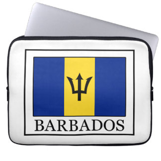 Barbados laptop sleeve