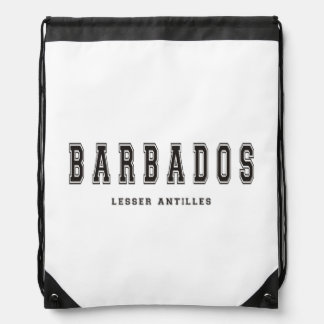 Barbados Lesser Antilles Drawstring Bag