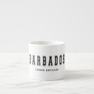 Barbados Lesser Antilles Espresso Cup