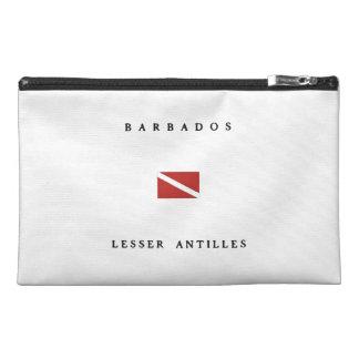 Barbados Lesser Antilles Scuba Dive Flag Travel Accessory Bag