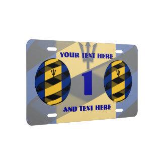 Barbados License Plate