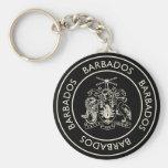 Barbados Llavero Personalizado