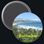 """Barbados magnet<br><div class=""""desc"""">barbados kitchen magnet</div>"""