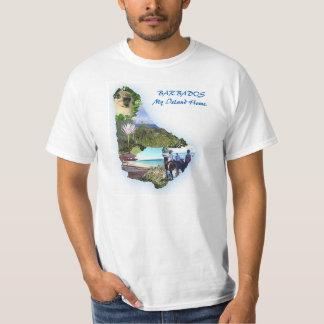 Barbados Map Men's T-Shirt XL