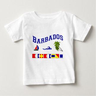 Barbados - (Maritime Flag Spelling) Infant T-shirt