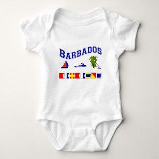 Barbados - (Maritime Flag Spelling) Tee Shirt