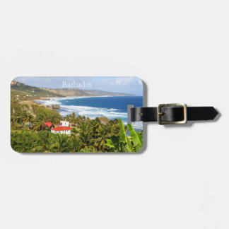 Barbados, Ocean and Beach scene, Luggage Tag