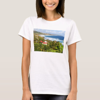 Barbados, Ocean, Beach, Tropical, Sand, T-shirt