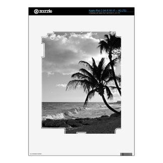 Barbados Palm Tree Beach iPad 3 Decals