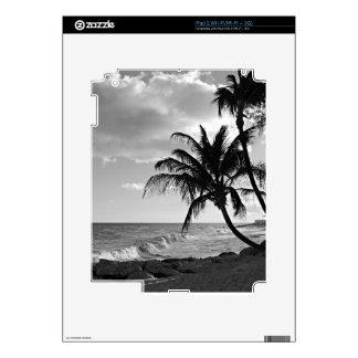 Barbados Palm Tree Beach Skin For iPad 2