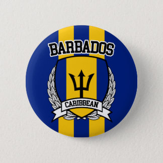 Barbados Pinback Button