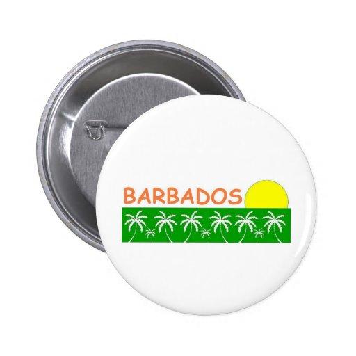 Barbados Pinback Buttons