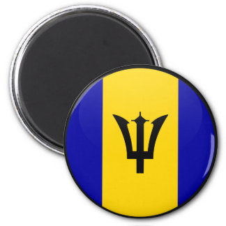 Barbados quality Flag Circle Fridge Magnets