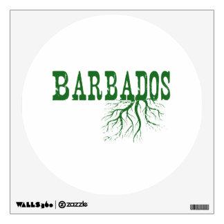 Barbados Roots Room Graphic